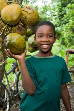 Caribbean boy